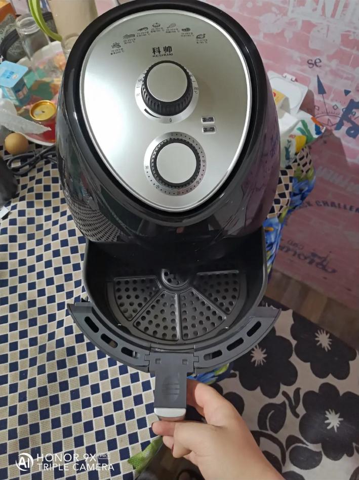 科帅5.5升大容量空气炸锅