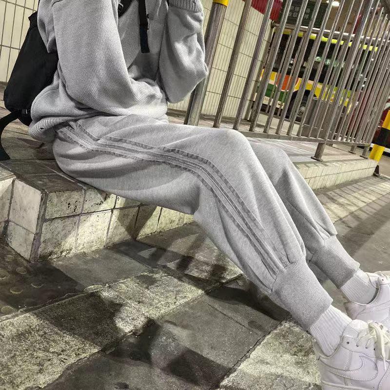 男士裤子新款韩版潮流运动裤束脚卫裤