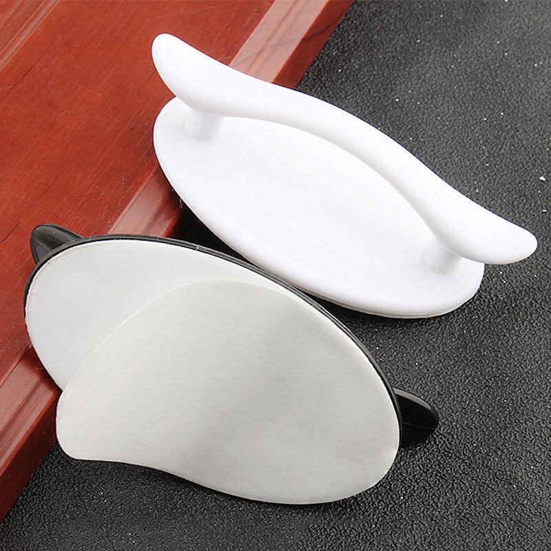 门把手免打孔衣柜抽屉拉手玻璃移门粘贴式