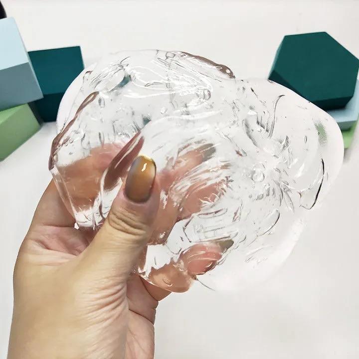 液态玻璃透明弹跳泥老头牌史莱姆水晶泥