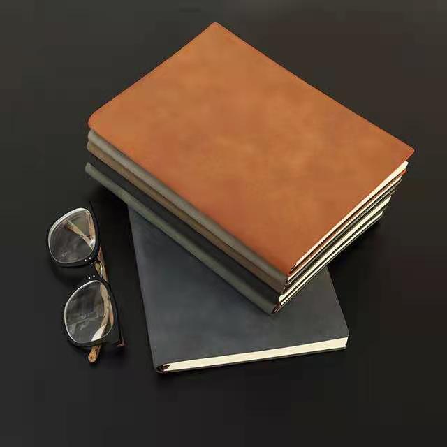 笔记本本子羊巴皮定制礼盒手账套装记事本