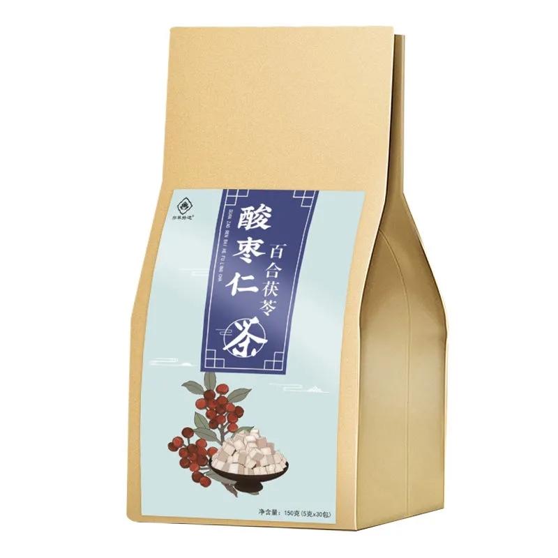 酸枣仁百合茯苓茶,深度助睡眠