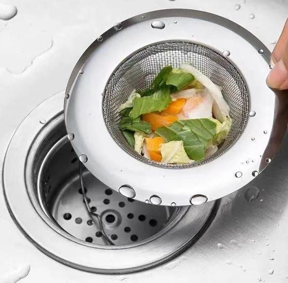 厨房水槽过滤网不锈钢隔渣网