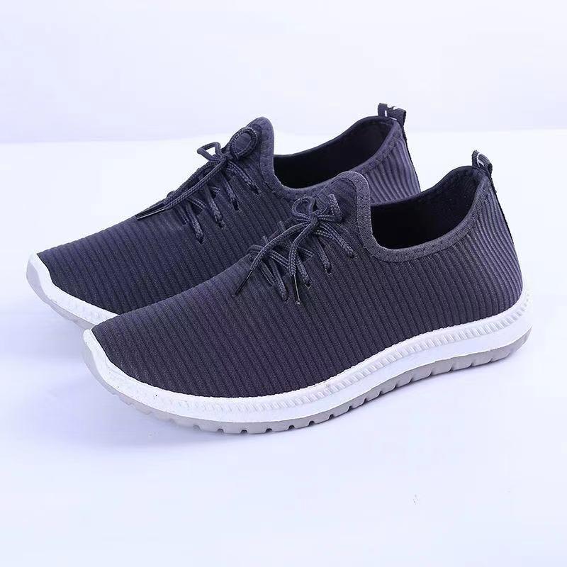 秋季新款软底舒适男女运动鞋