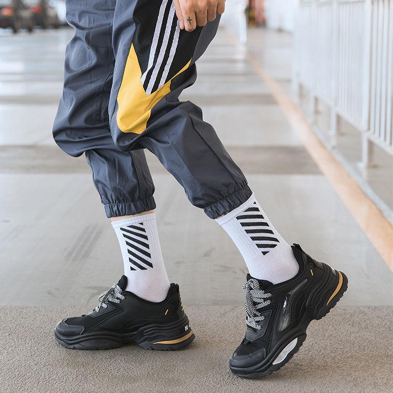 潮流百搭防臭高帮中筒棉运动学生篮球长袜子