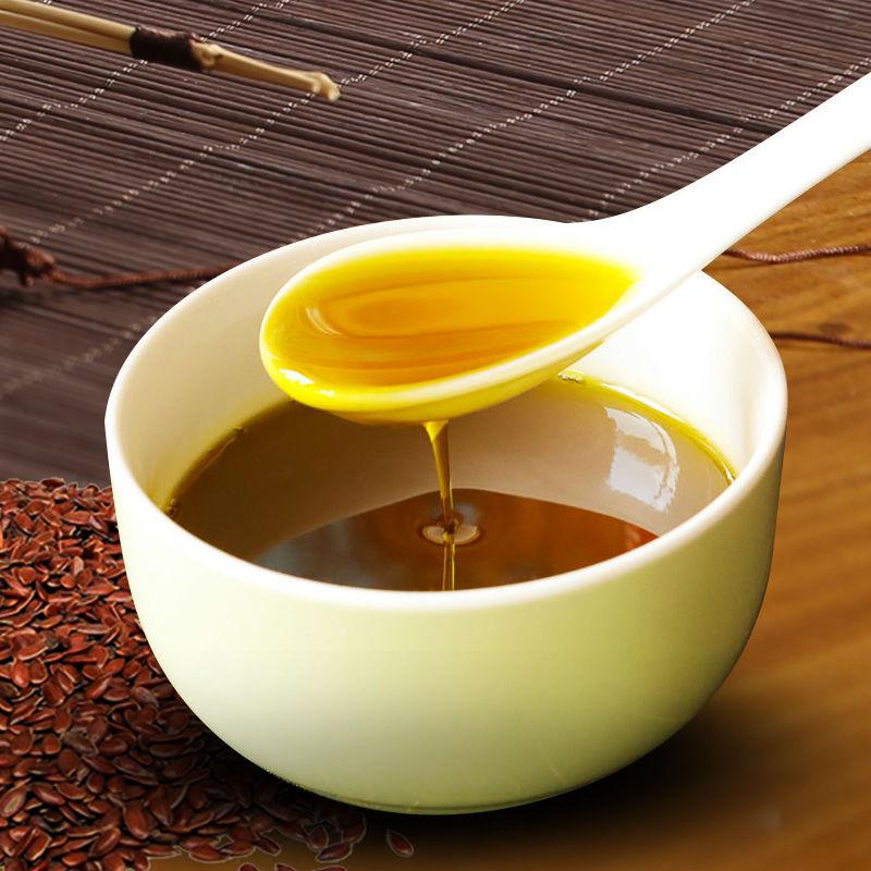 纯胡麻油亚麻籽油500ml浓香小瓶
