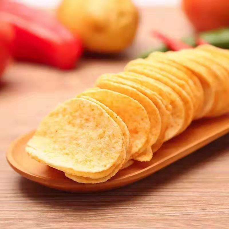 临期折扣可比克薯片批发零食办公室休闲零
