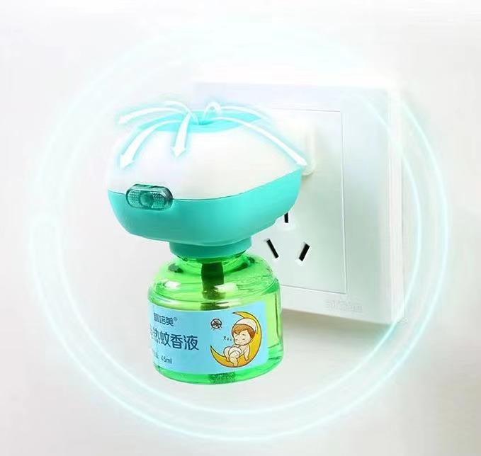 成人儿童家用驱蚊灭蚊液电蚊香器插电式