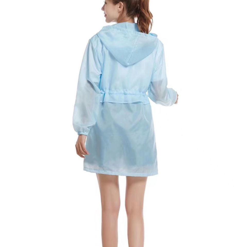 防晒衣女新款夏季薄款中长款束腰薄外套
