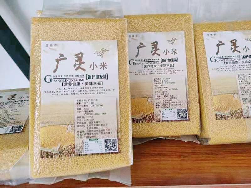 山西20年新黄小米 养胃广灵米脂小米