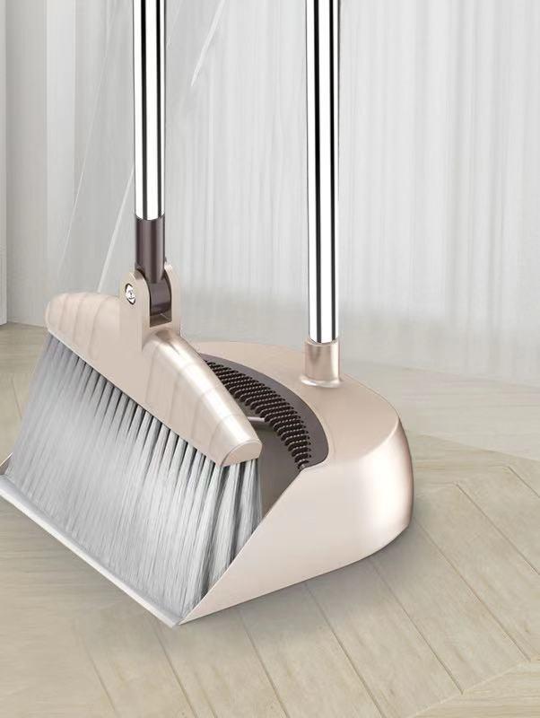 格扫把簸箕套装组合家用软毛笤帚地