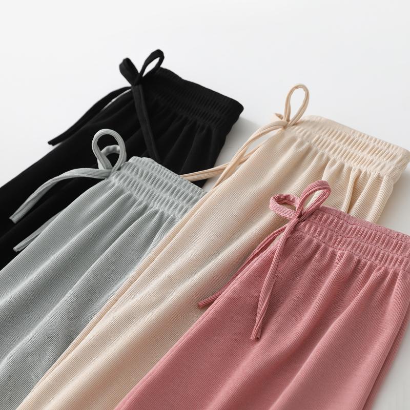 儿童防蚊裤夏季童装休闲长裤灯笼裤阔腿裤