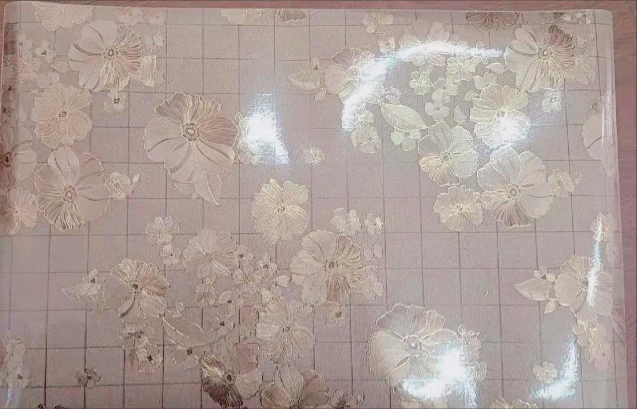 正方形透明软玻璃桌垫圆形PVC桌垫防水