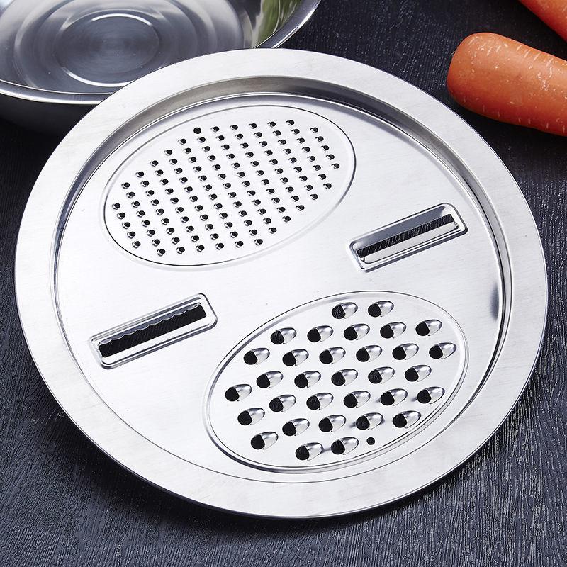 多功能厨房用品刨丝盆切片切菜神器