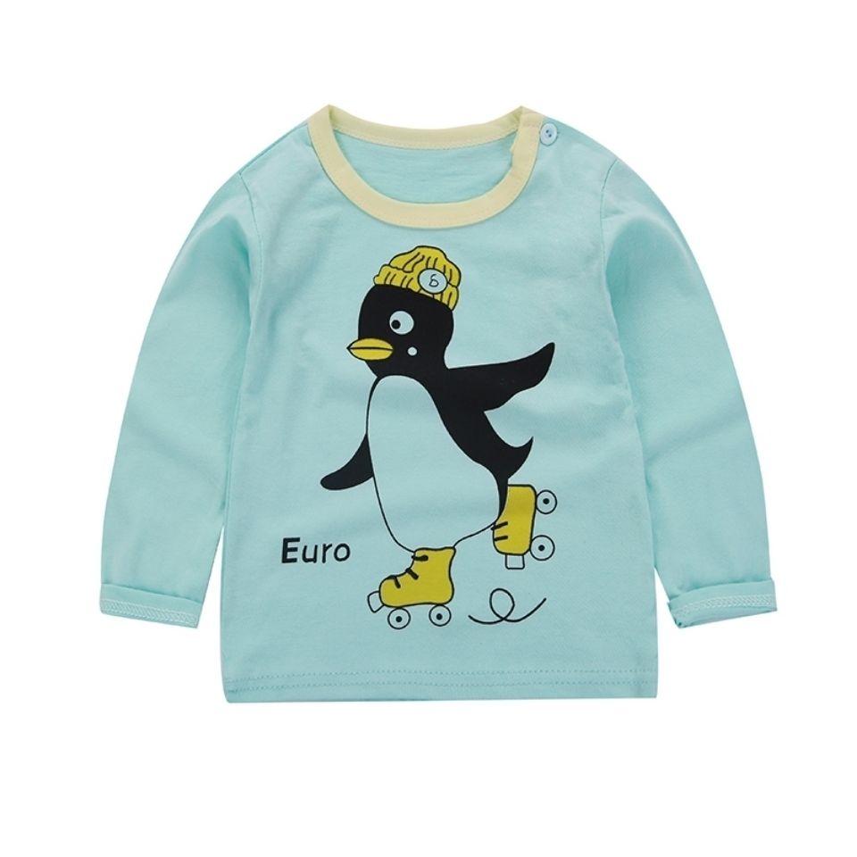 儿童长袖T恤秋季A类纯棉打底衫上衣宝宝