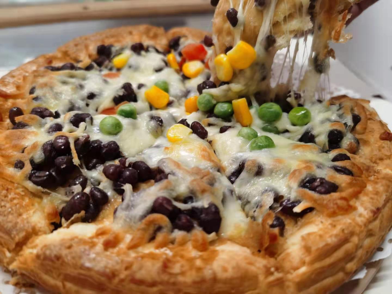 酥皮披萨半成品加热即食芝士拉丝