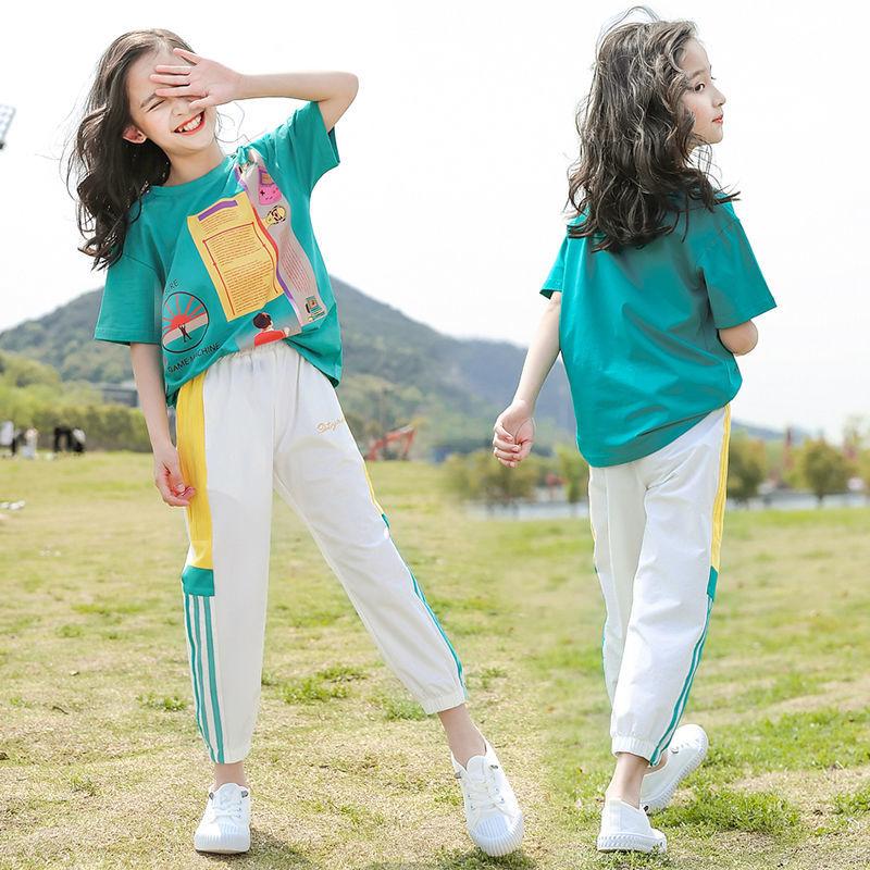 女童套装优质面料柔软舒适