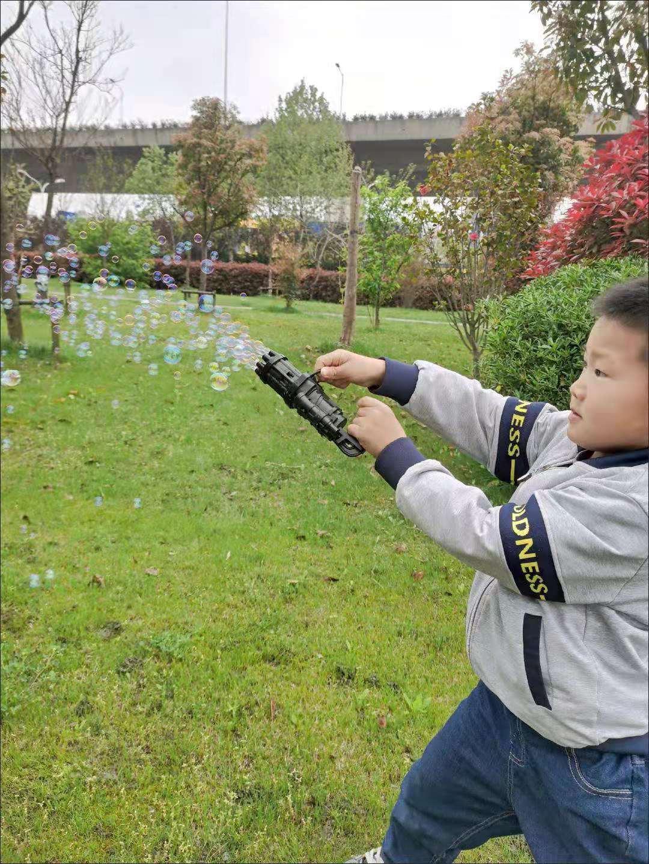 加特林泡泡机抖音同款成人网红爆款吹泡泡枪
