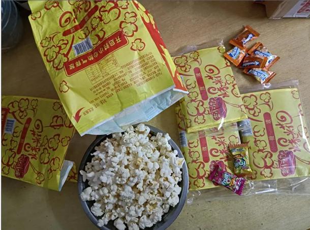 微波炉爆米花奶油甜味100克*5包超值