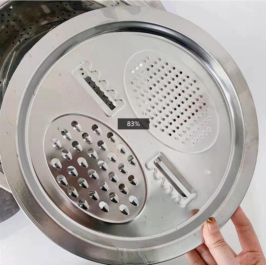 不锈钢盆洗菜盆水果汤盆多功能切菜刨土豆丝