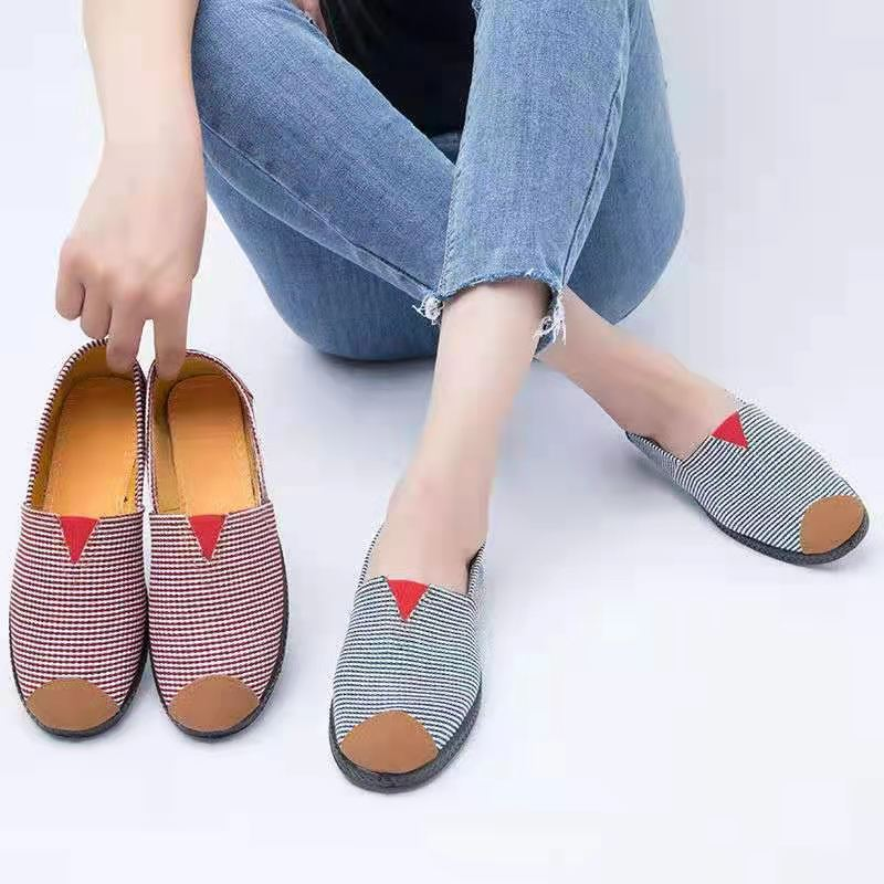 新款百搭老北京布鞋软底防滑