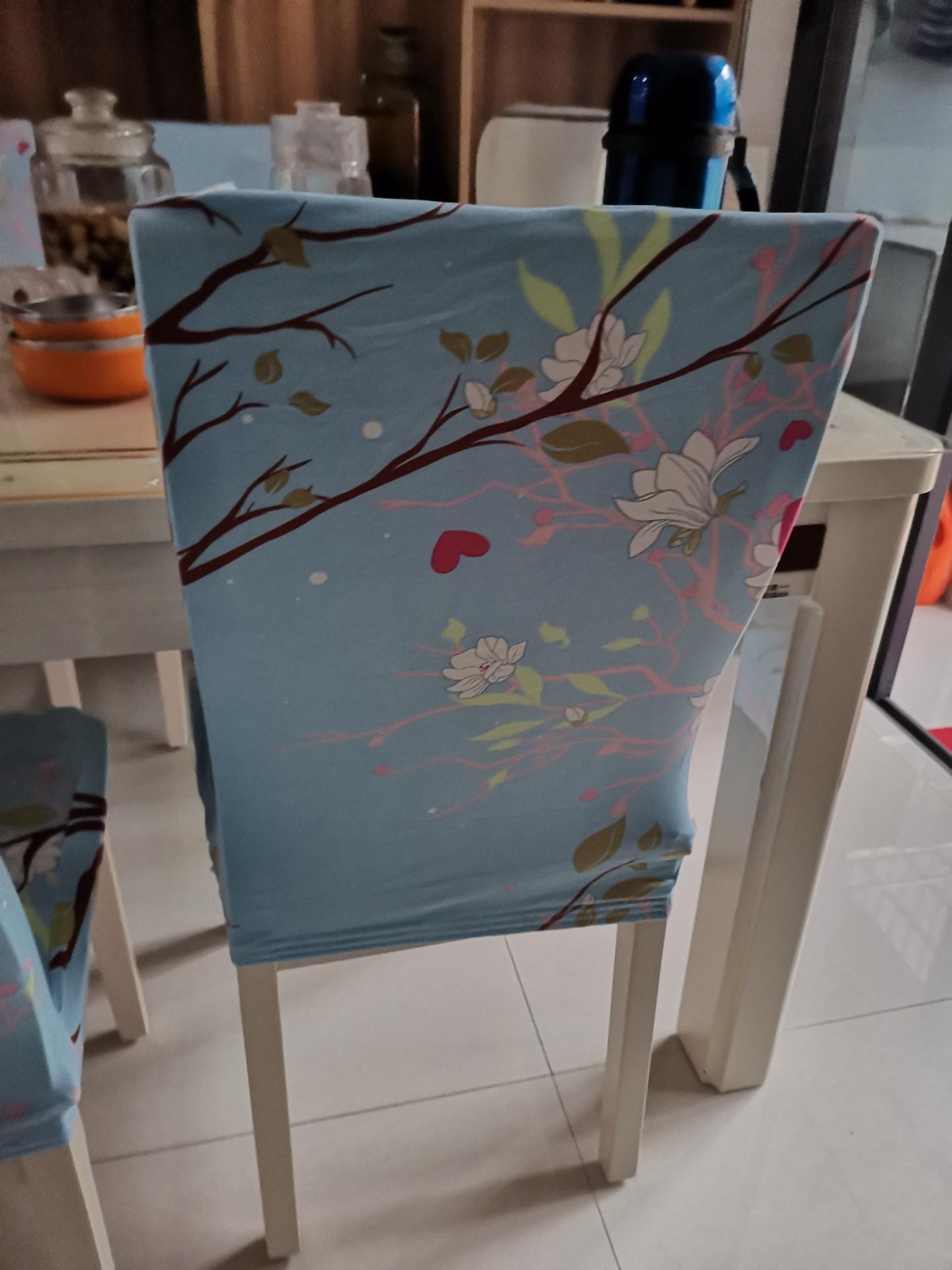 椅子套罩垫子靠背一体家用现代简约餐椅弹力