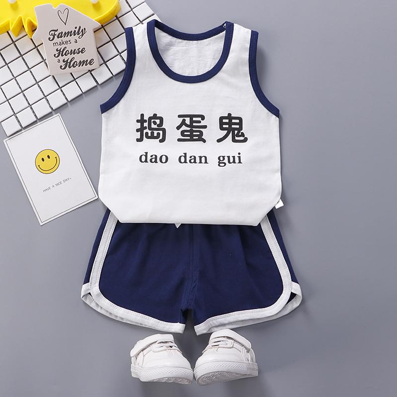 t恤短裤0-6岁宝宝童装婴儿半袖夏装
