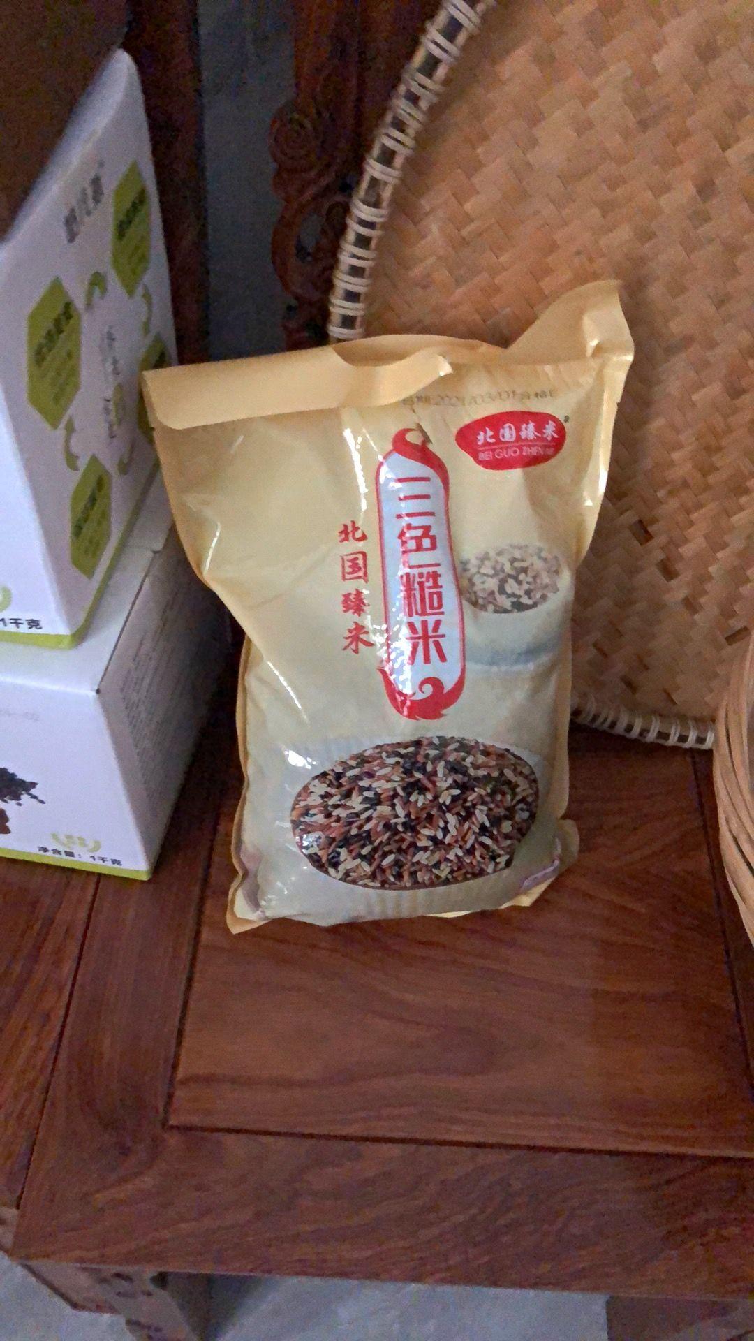 新三色糙米5斤健身减脂餐五谷杂粮