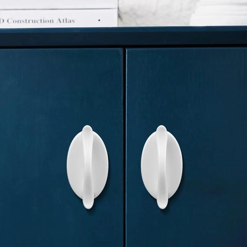 家用门把手免打孔衣柜移门拉手器