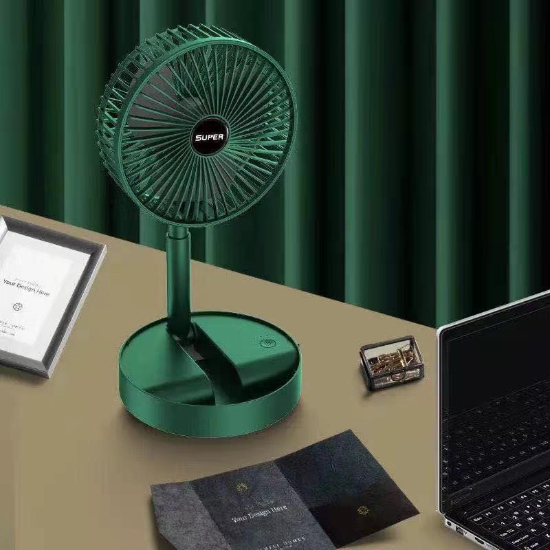 USB充电扇可折叠伸缩迷你小风扇