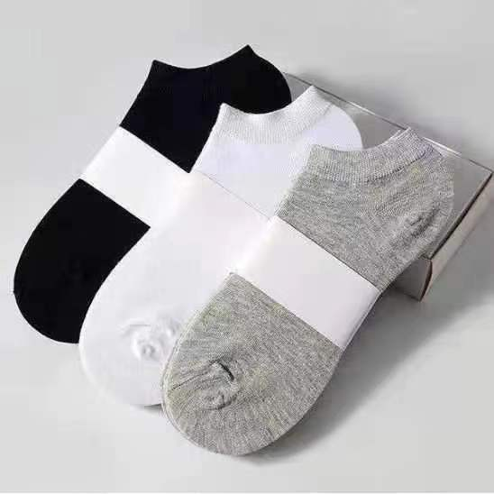 袜子男士夏季纯棉薄款袜子浅口防臭吸汗船袜
