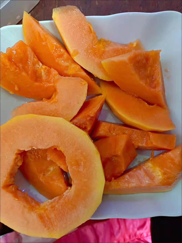 超甜广西红心牛奶木瓜整箱应季冰糖青木瓜
