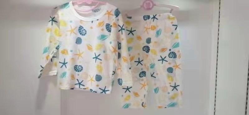 1-5岁儿童夏季纯棉套装