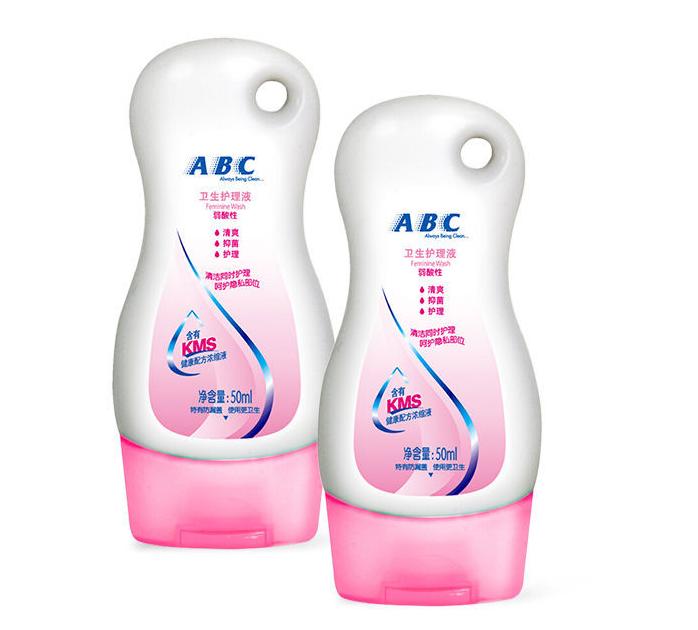 ABC私处护理液泡沫型抑菌99.9%