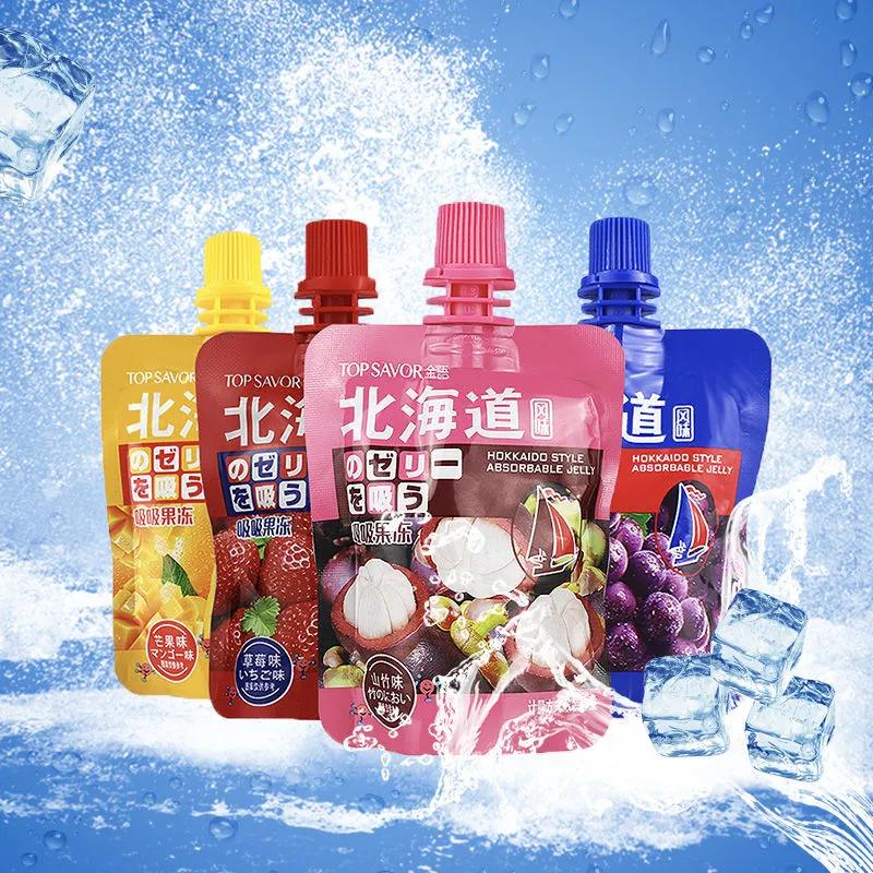 金语北海道风味吸吸果冻