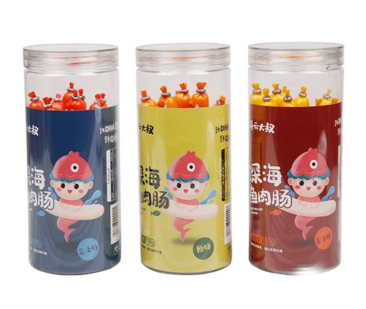 【儿童零食】深海鳕鱼肠罐装