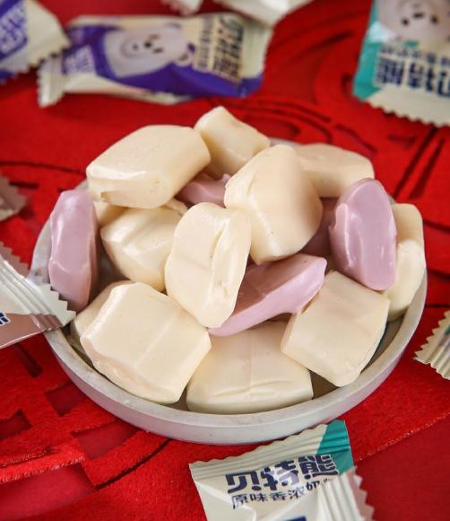 贝特熊特浓牛奶糖袋装20粒