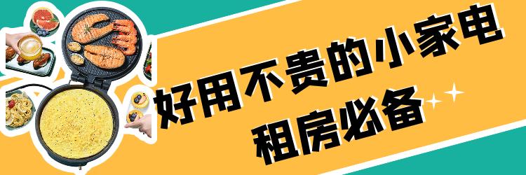 【合集】毕业季!租房必备的实用小家电