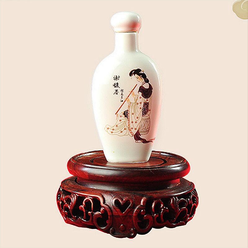 谢馥春旗舰店 桂花头油35ml 免洗护发素古风瓷瓶传统带外盒包邮