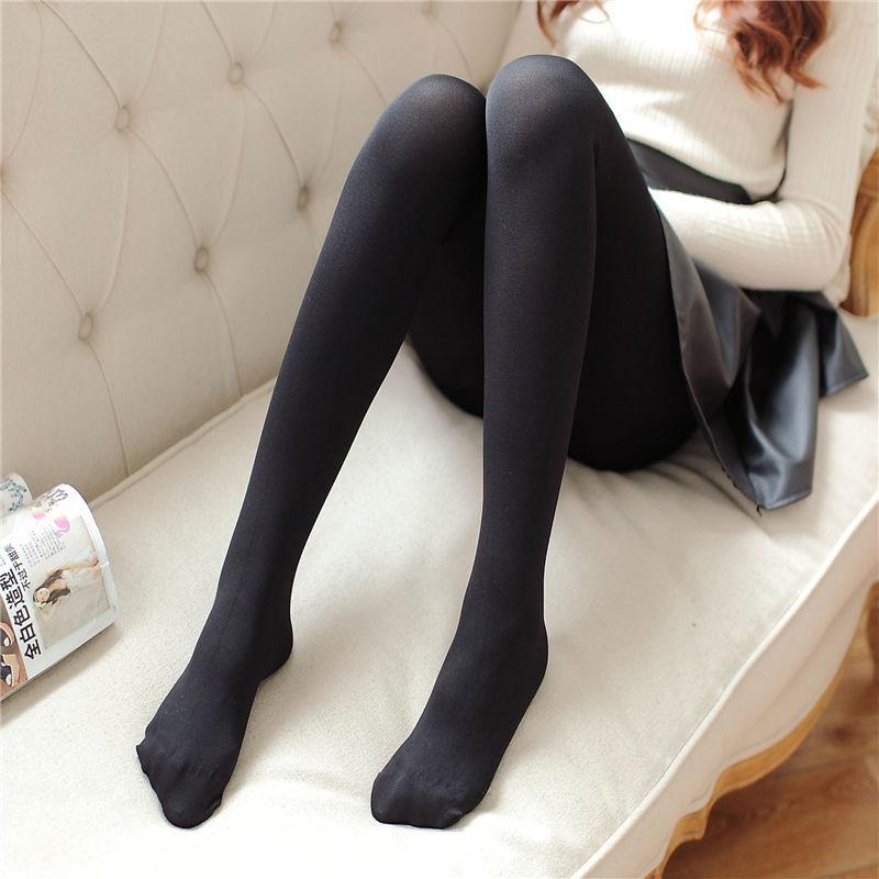 【2条装】连裤袜女士防勾丝天鹅绒春秋显瘦