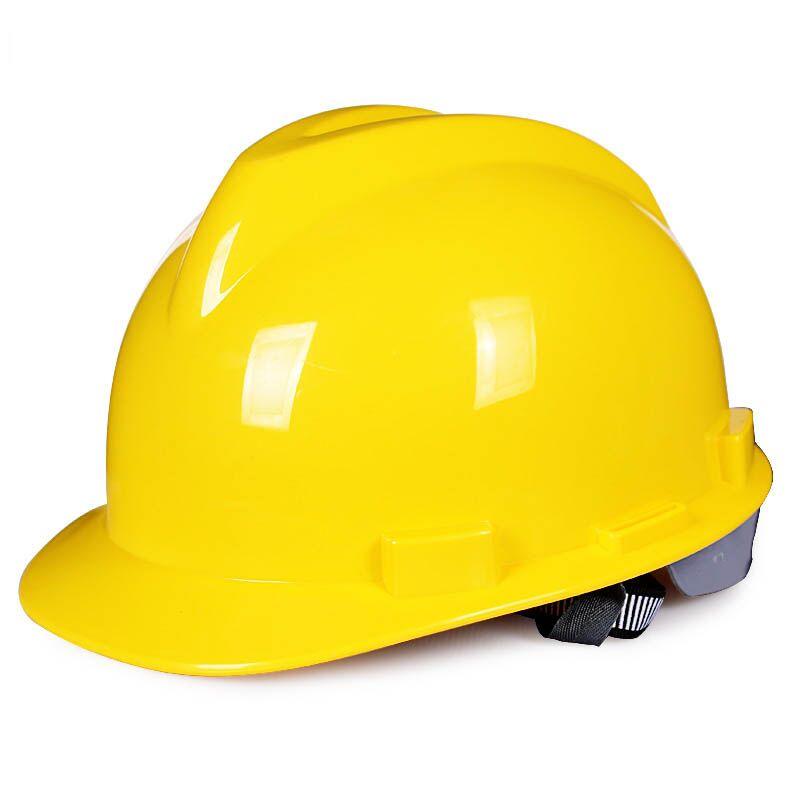 国标abs安全帽工地施工领导建筑工程头盔劳保防护帽印字加厚定制