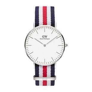 【618预售】dw手表女 36mm女生撞色