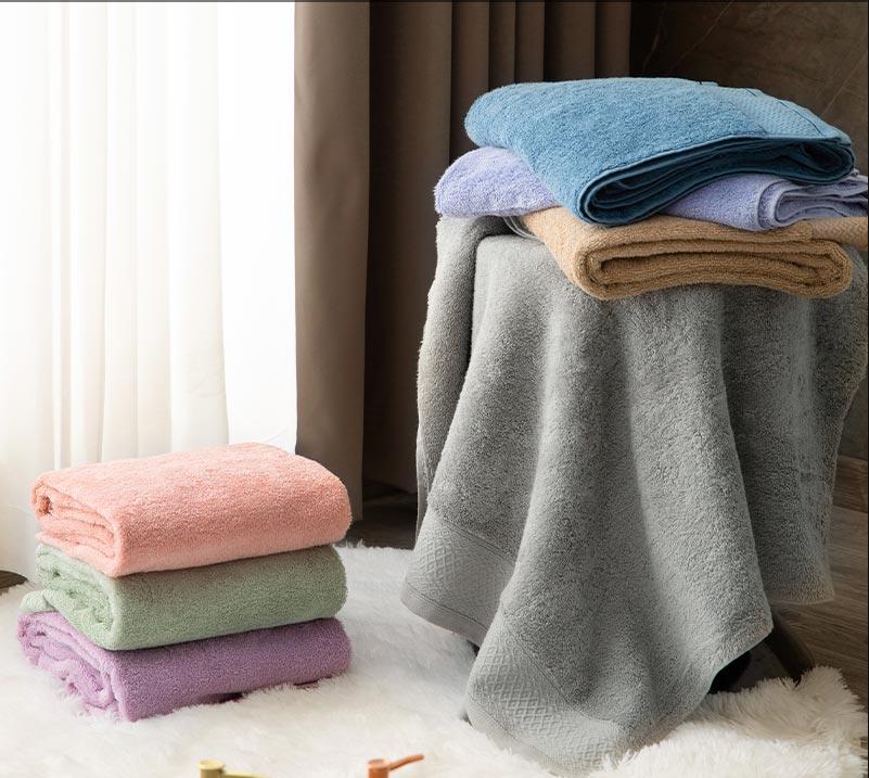 菲罗菈浴巾家用纯棉吸水柔软不掉毛成人男女儿童速干加厚婴儿裹巾