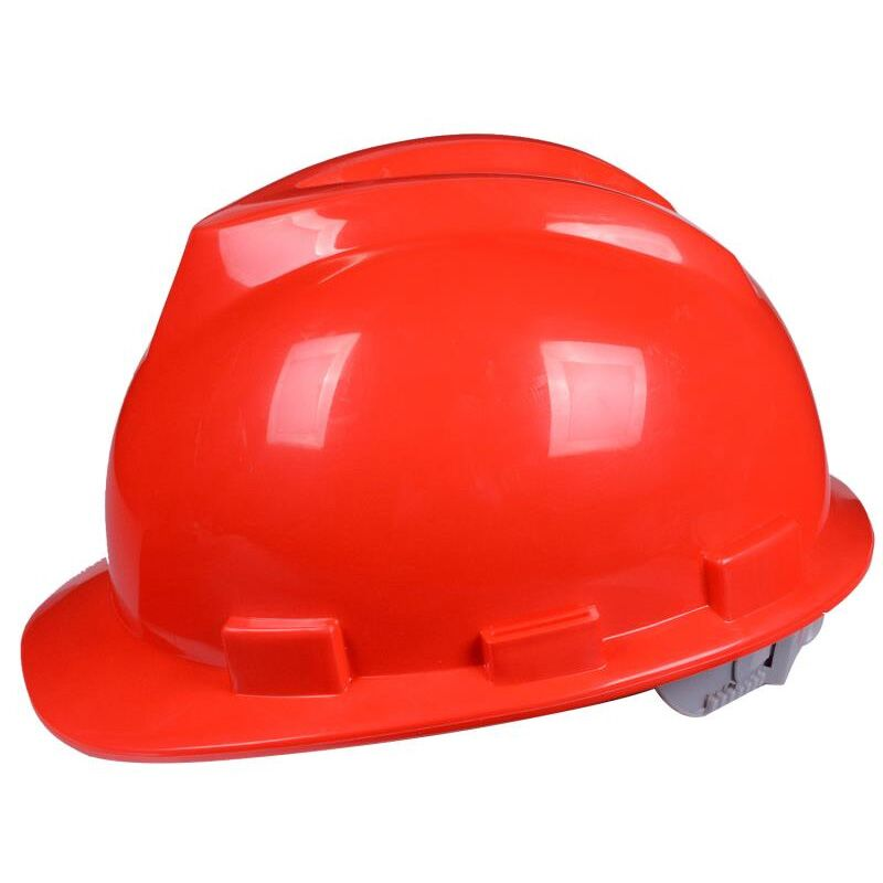 abs安全帽工地施工领导电工国标加厚头盔劳保建筑工程透气印字男
