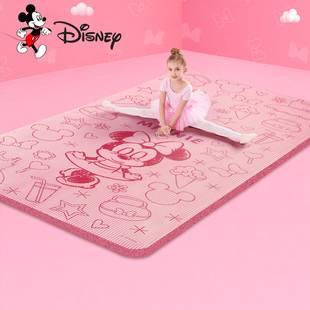 迪士尼儿童练舞瑜伽垫防滑加厚加宽加长女童舞蹈练功健身家用地垫