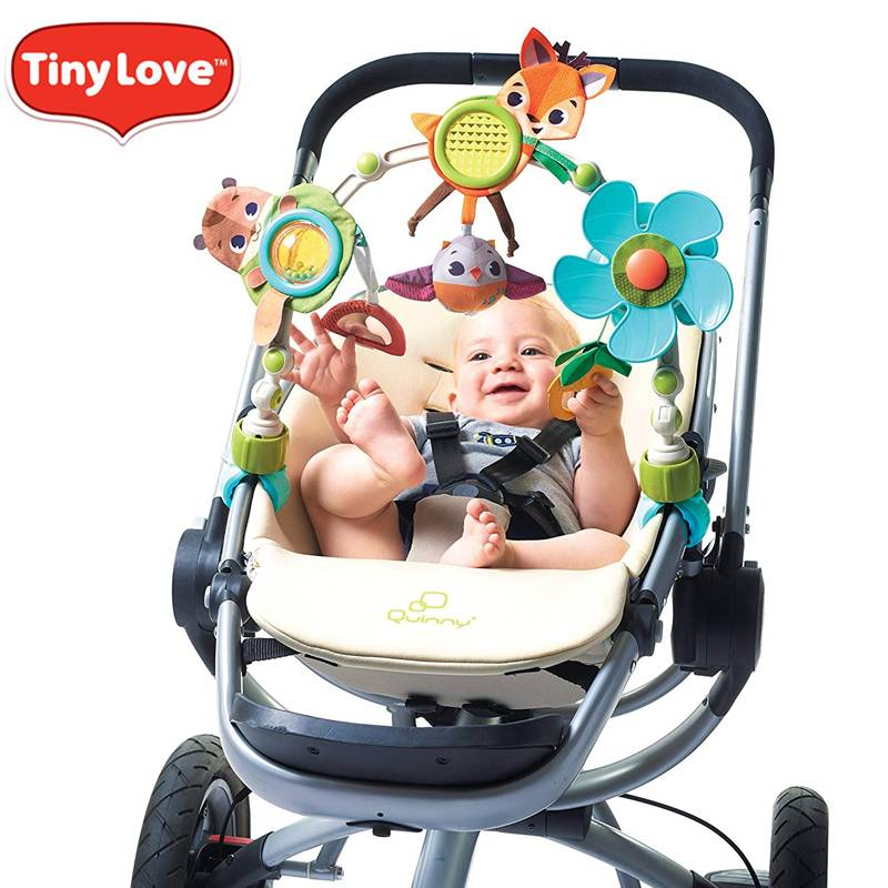 tinylove婴儿餐椅推车挂件玩具架