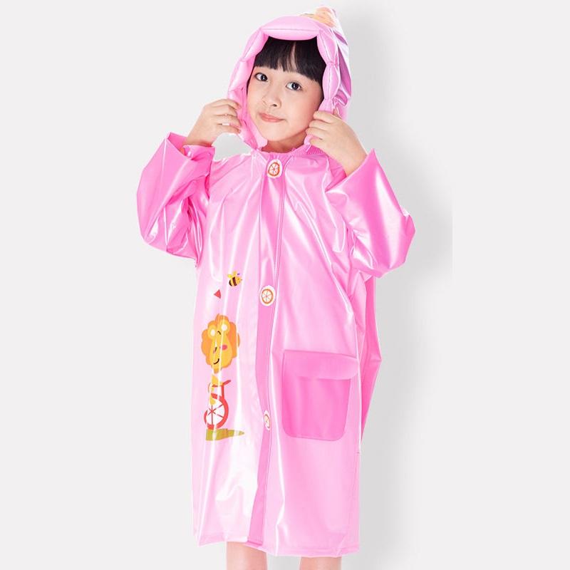 儿童雨衣雨鞋套装男女童幼儿园小学生带书包位连体防暴雨上学雨披