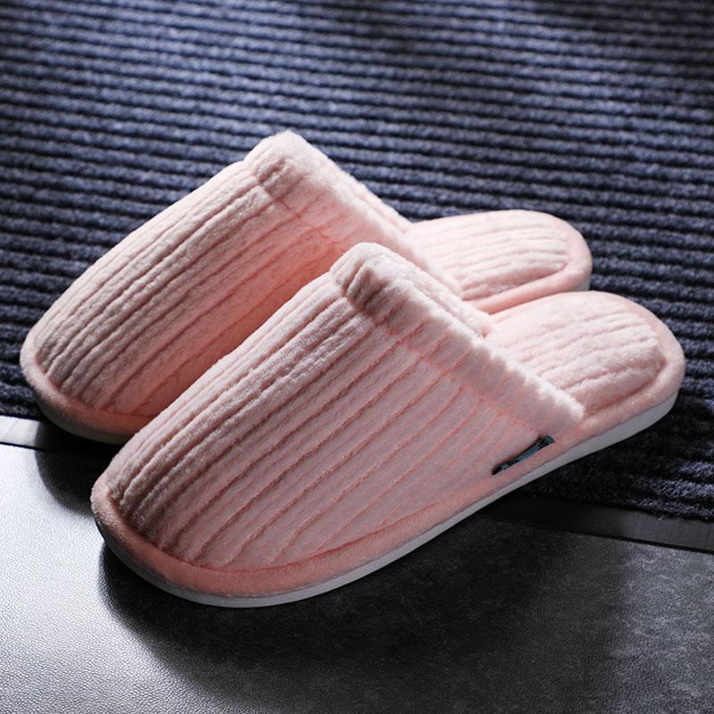 毛绒棉拖鞋秋冬季居家室内可爱防滑保暖月子温馨男女情侣特惠