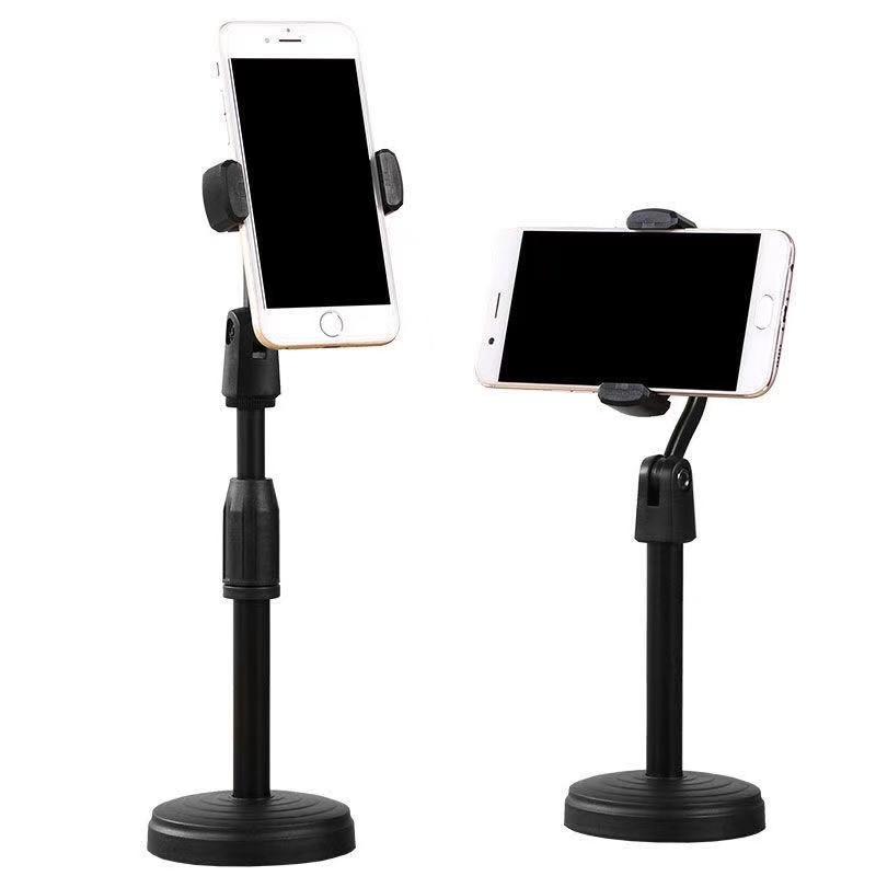 简约创意桌面手机支架通用懒人手机座平板电脑ipad金属直播手机架