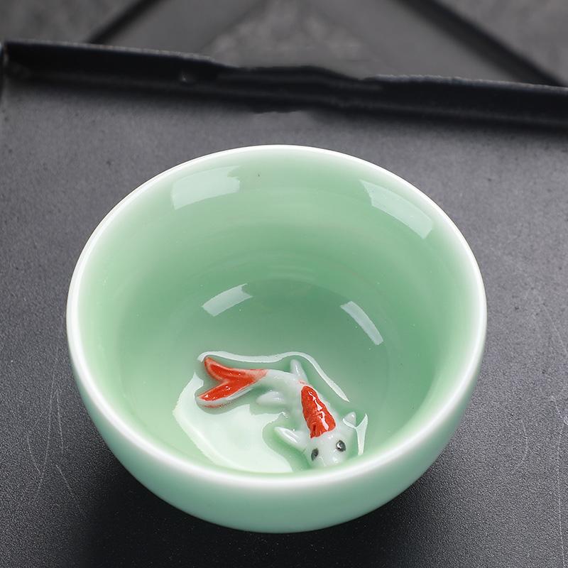 天然乌金石茶盘托盘茶具套装整块简约家用大小号排水石头茶桌茶台